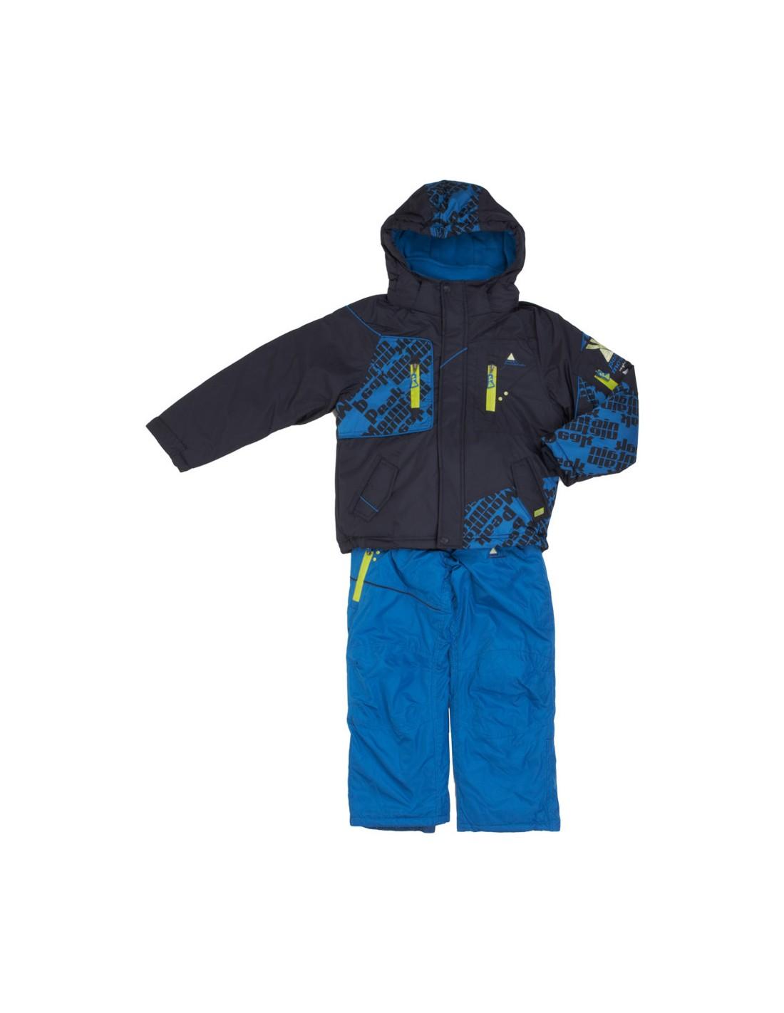 4c8cd6f19771a Ensemble de ski garçon junior ESLALOB/10-16/NH