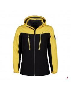 blouson-ski-homme-peak-mountain-ceflight-jaune-noir